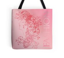 Fashion Female Flourish Tote Bag In Blended Pinks Tote Bag