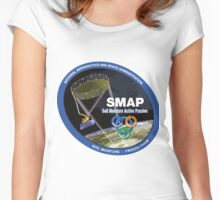 Soil Moisture Active Passive (SMAP) Logo Women's Fitted Scoop T-Shirt
