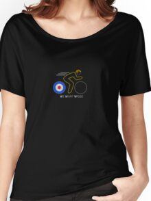 We Want Wiggo Women's Relaxed Fit T-Shirt