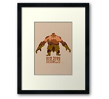 Lord of Crags Framed Print