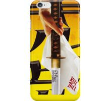 Kill Bill iphone case iPhone Case/Skin