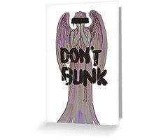 The Angel Greeting Card