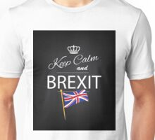 Keep calm and Brexit Unisex T-Shirt