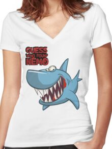 Guess who found Nemo Women's Fitted V-Neck T-Shirt