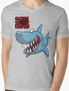Guess who found Nemo Mens V-Neck T-Shirt