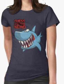 Guess who found Nemo Womens Fitted T-Shirt
