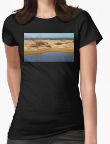 Water By The Ocean Womens Fitted T-Shirt