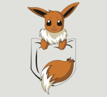 Eevee in my pocket by CoyoDesign