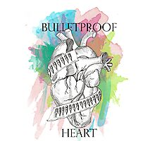 Bulletproof Heart - My Chemical Romance Photographic Print