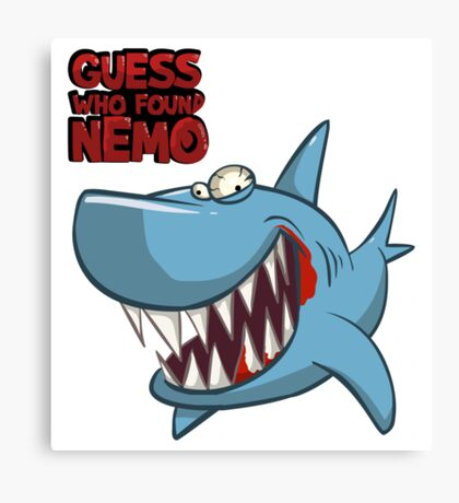 Guess who found Nemo Canvas Print
