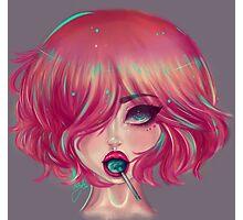 Lollipop girl Photographic Print