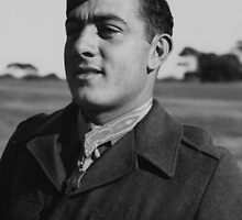 John Basilone wearing The Medal of Honor by warishellstore