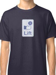Lift  (vertical logo) Classic T-Shirt