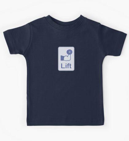 Lift  (vertical logo) Kids Tee