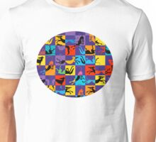 Pop Art Hounds Unisex T-Shirt