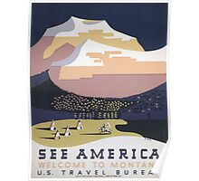 Welcome to Montana - See America WPA Poster
