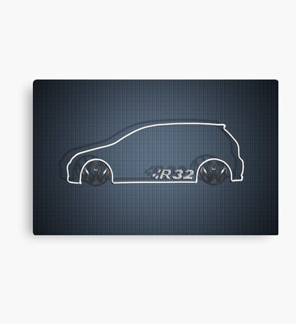 R32 MkV Canvas Print
