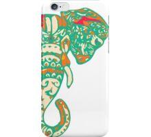 Colorful Elephant Illustration iPhone Case/Skin