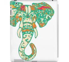 Colorful Elephant Illustration iPad Case/Skin