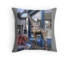 The Keswick Giraffe Throw Pillow