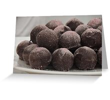 Bramble Truffles Greeting Card