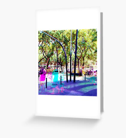 Set your mind at ease as you muster all a fluster. Greeting Card