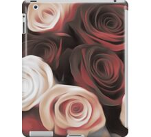 Blood Red & White Roses iPad Case/Skin