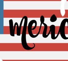 Merica  Sticker