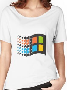 Windows 95 logo Women's Relaxed Fit T-Shirt