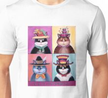 Cats with Hats Unisex T-Shirt