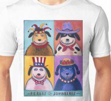Perros con Sombreros Unisex T-Shirt