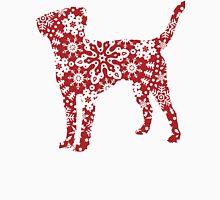 Labrador Retriever Christmas Snowflakes Unisex T-Shirt