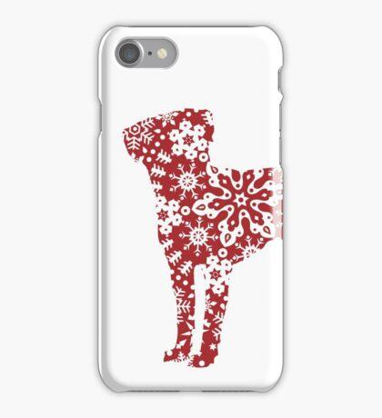 Labrador Retriever Christmas Snowflakes iPhone Case/Skin
