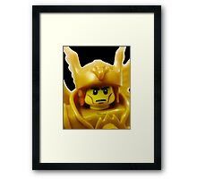 Lego Flying Warrior Framed Print
