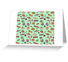 Candy & Bonbon Greeting Card