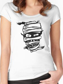 Mummy Head Women's Fitted Scoop T-Shirt