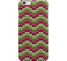 zigzag seamless knitting colorful pattern iPhone Case/Skin