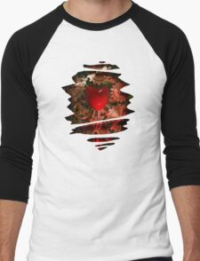 Machine Heart  Men's Baseball ¾ T-Shirt