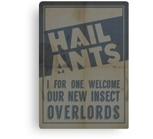 Hail Ants! Canvas Print