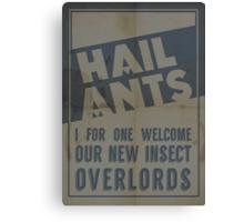Hail Ants! Canvas Print