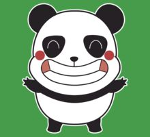 Happy Panda One Piece - Short Sleeve