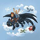 Dragon Riders Ver 2 by dooomcat