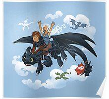 Dragon Riders Ver 2 Poster