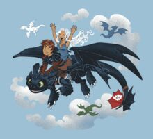 Dragon Riders Ver 2 Baby Tee