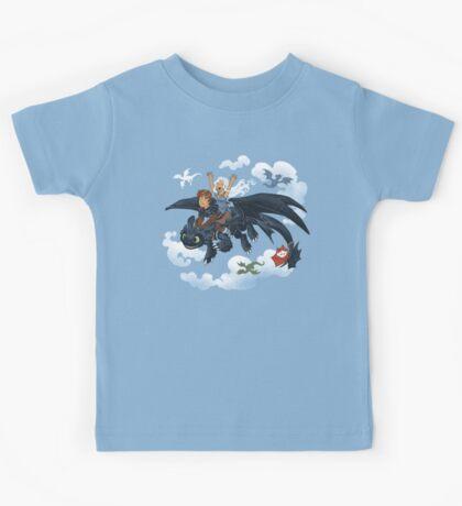 Dragon Riders Ver 2 Kids Tee
