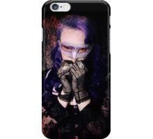 Scared Vamp iPhone Case/Skin