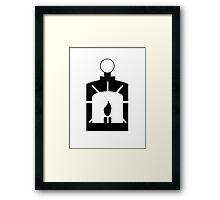 Railroad logo - Fallout 4 Framed Print
