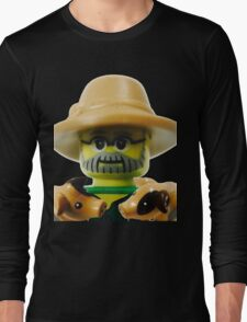 Lego Farmer minifigure Long Sleeve T-Shirt
