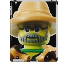 Lego Farmer minifigure iPad Case/Skin