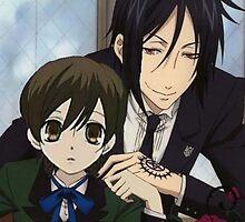Sebastian and Harhui by baydw7